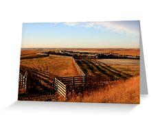 Flint Hills, KS Greeting Card