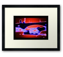 Fourth Street Bridge Framed Print