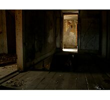 Haunted House Photographic Print