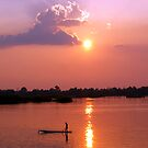 Gone Fishing - The Mekong River, Southern Laos by timstathers