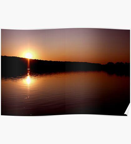 Douglas County Sunset Poster