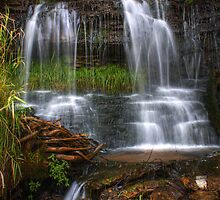 Split Falls by Chintsala