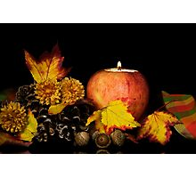 Apple Autumn Ambiance Photographic Print