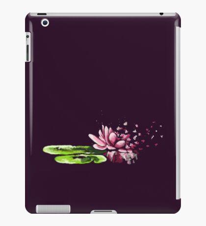 Exploding waterlily iPad Case/Skin