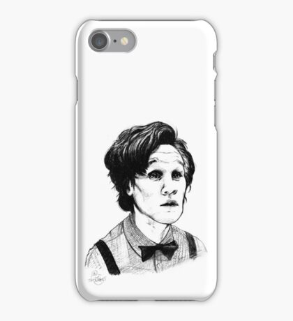 Matt Smith (Doctor Who) Etching iPhone Case/Skin