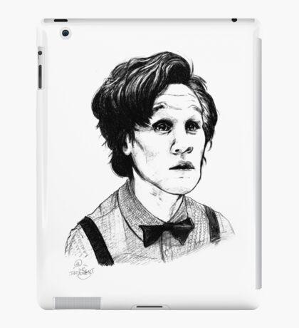 Matt Smith (Doctor Who) Etching iPad Case/Skin