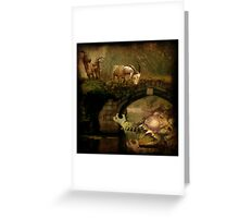 CHALLENGE - Billy Goats Gruff... Greeting Card