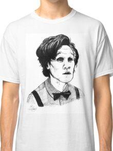 Matt Smith (Doctor Who) Etching Classic T-Shirt