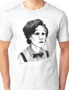Matt Smith (Doctor Who) Etching Unisex T-Shirt
