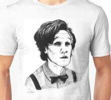 Matt Smith (Doctor Who) Etching Unisex T-Shirt
