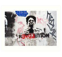 R(love)evolution Stencil Art Art Print
