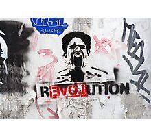 R(love)evolution Stencil Art Photographic Print