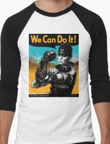 We Can Do It (Furiously) - light colors Men's Baseball ¾ T-Shirt