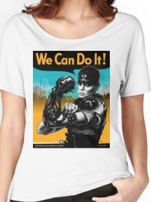 We Can Do It (Furiously) - light colors Women's Relaxed Fit T-Shirt