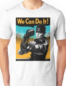We Can Do It (Furiously) - light colors Unisex T-Shirt