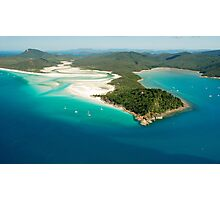 Tongue Point and Hill Inlet Whitsundays Photographic Print
