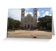 Rio Piedras church Greeting Card