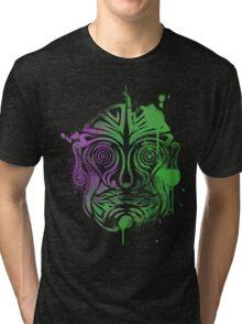 Tribal Graffiti Tri-blend T-Shirt