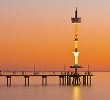 Brighton Beach, South Australia by Andre Gascoigne