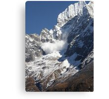 Avalanche ~ Look Out Below Canvas Print