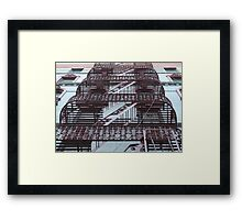 Iron Layer Cake Framed Print