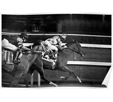 Jockey at Churchill Downs Poster
