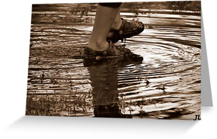 the footprints of a premature man by jweekley
