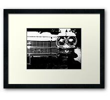 Anti-Chromatic Framed Print