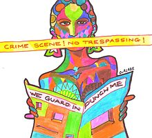 Crime scene-no trespassing by tqueen