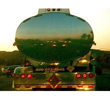 Freeway Reflection Photographic Print