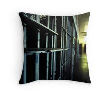 Historic Jail Throw Pillow