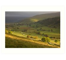 Up Dale to Starbotton Art Print