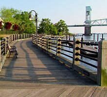 Waterfront In Wilmington, NC by Cynthia48
