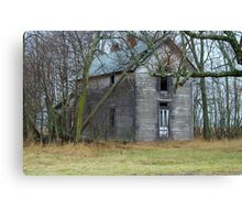 Empty ......OLD .. and Standing Proud. Canvas Print
