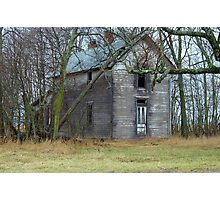 Empty ......OLD .. and Standing Proud. Photographic Print