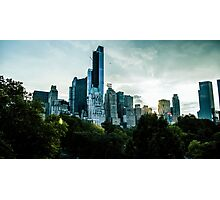 Central Park Skyline Photographic Print