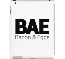 BAE - Bacon and Eggs iPad Case/Skin