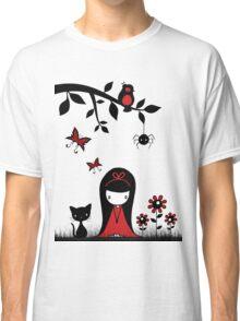 Little Red Ribbon Head Classic T-Shirt
