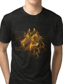 Fractal Prowler Tri-blend T-Shirt