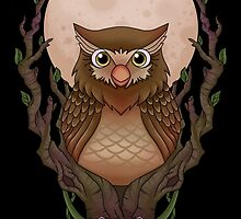 Owly -black- by CoyoDesign