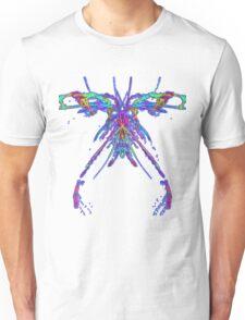 Fractal Dragonfly Unisex T-Shirt