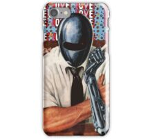 Retro-Robot Love iPhone Case/Skin