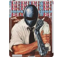 Retro-Robot Love iPad Case/Skin
