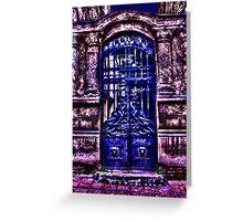 Mystical Door Fine Art Print Greeting Card