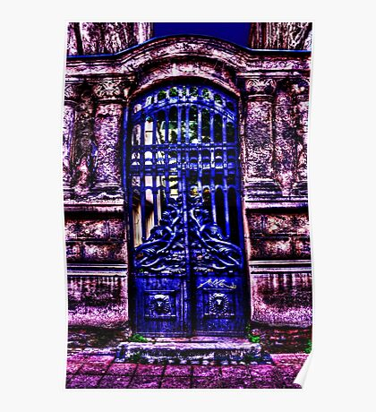 Mystical Door Fine Art Print Poster