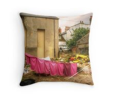 Total Laundry Disaster Throw Pillow