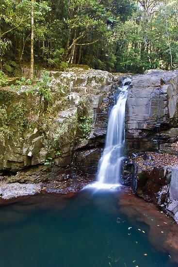 Burrajum Falls by Jason Asher