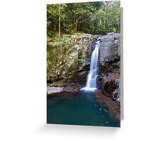 Burrajum Falls Greeting Card
