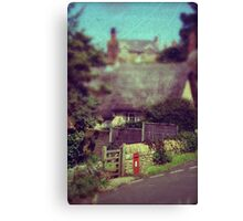 The Old Postbox Canvas Print