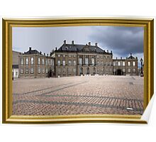 Royal Palace Copenhagen Poster